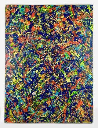 """'Nebula' - 30""""w x 40""""h"""