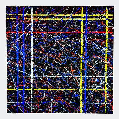 """'The Grid' - 36""""w x 36""""h"""