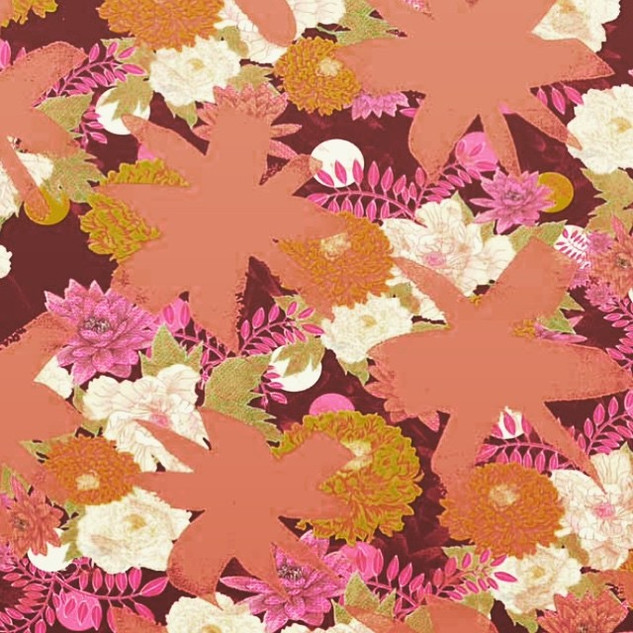 Inspired by _commedesgarcons, this print