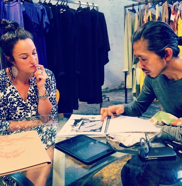 Planning new Textile designs with Akira