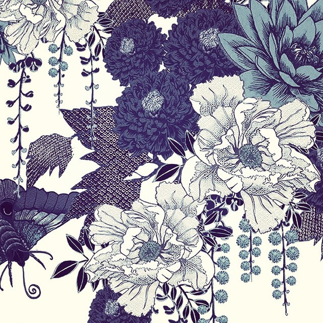 Detail from my _High Summer_ print in In