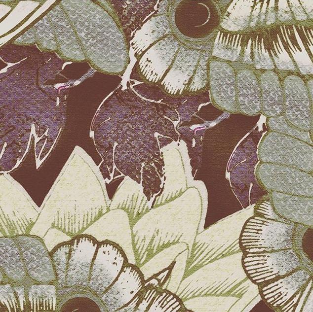 """Tiny detail from """"Moth Coat""""....._worldo"""