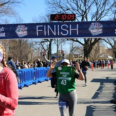 Central Park Half Marathon