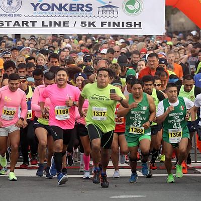 Yonkers Marathon, Marathon Relay, Half Marathon, 5K
