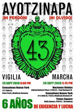 Vigil for +43 Hearts