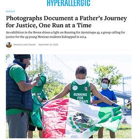 Running for Ayotzinapa 43 AAA3A
