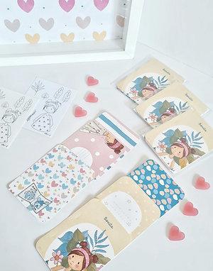 Pack de 6 tag Colección Bonita