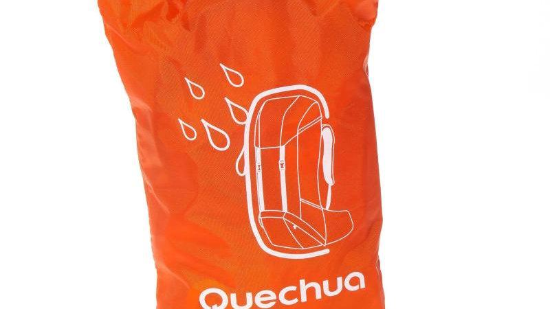 Водоотпорна навлака за ранец за планинарење Quechua 20/35L