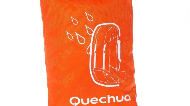 Водоотпорна навлака за ранец за планинарење Quechua 55/80 L