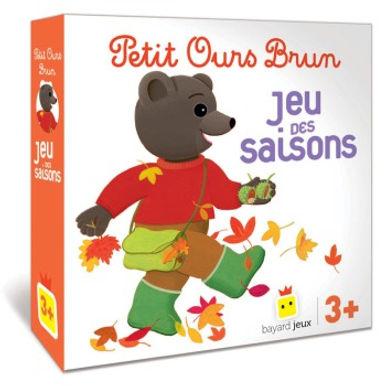 Petit Ours Brun le jeu des saisons