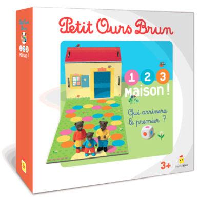 Petit Ours Brun 1, 2, 3 maison!