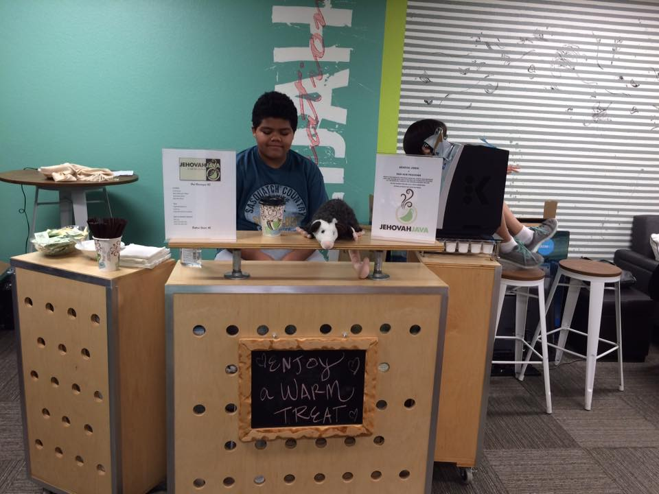 Youth Coffee Cart