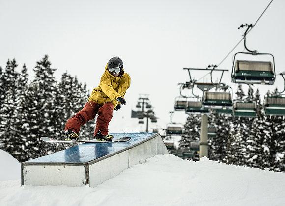 Aulas de Snowboard