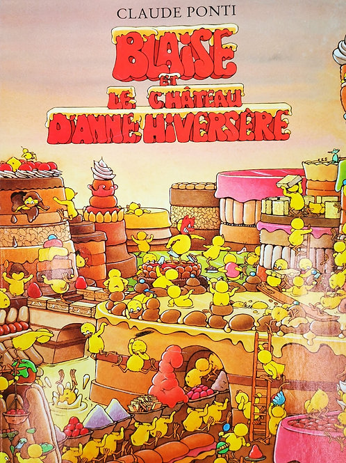 Blaise et le château d'Anne Hiversère Claude Ponti