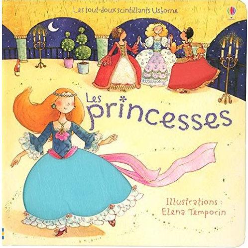 """Les princesses, livre """"à toucher"""""""
