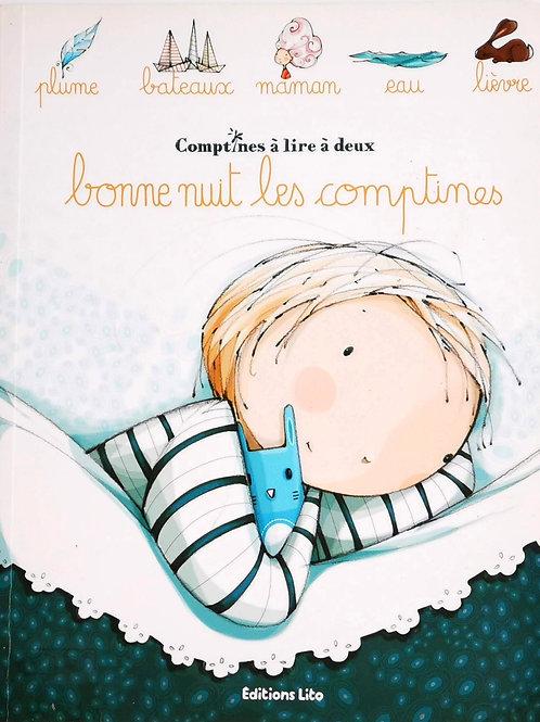 Comptines à lire à deux : Bonne nuit les comptines