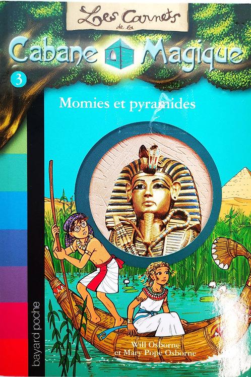 La Cabane Magique, Momies et pyramides