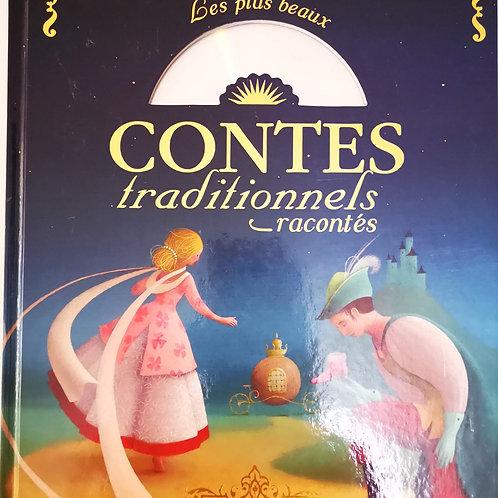 Les plus beaux Contes traditionnels racontés (CD)