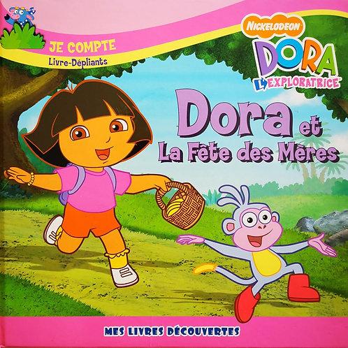Dora et la fête des mères, livre dépliants