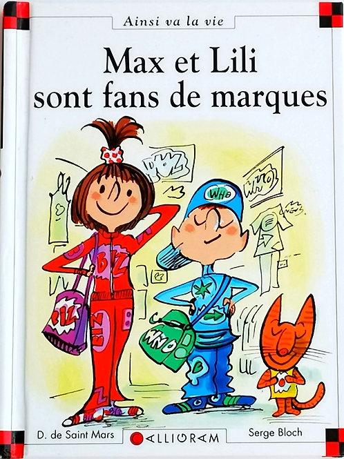 Max et Lili : Max et Lili sont fans de marques
