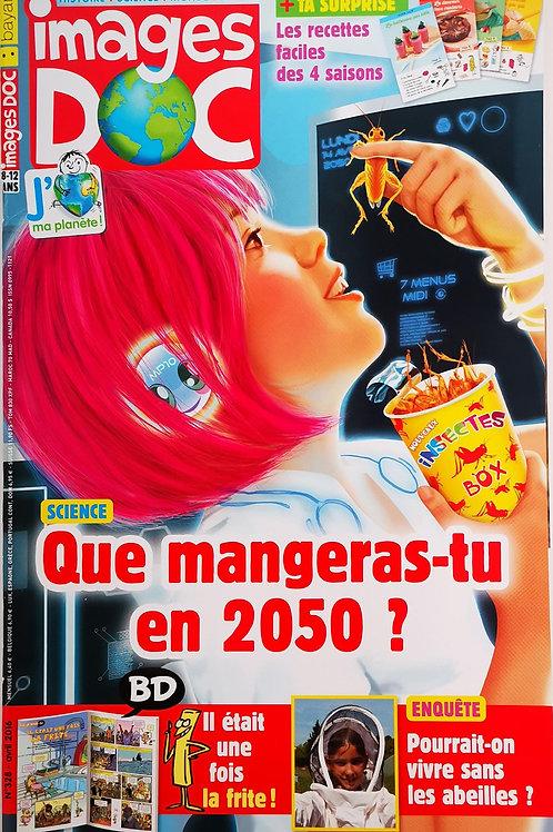 Images Doc, Que mangeras-tu en 2050 ?