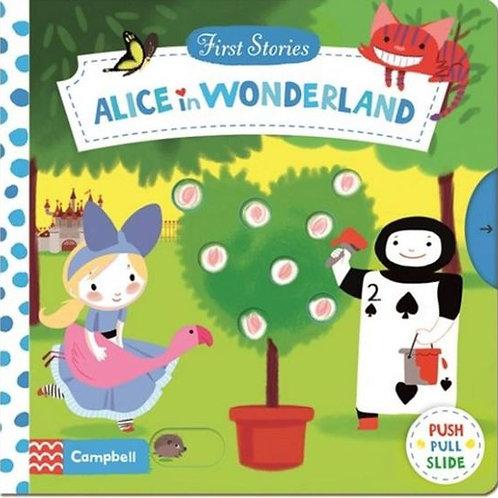 Alice in Wonderland (push, pull and turn)