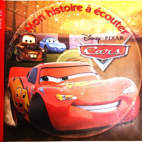Cars, mon histoire à écouter (sans CD)