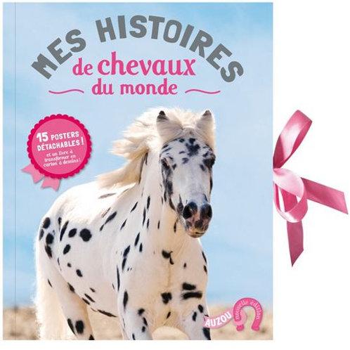 Mes histoires de chevaux du monde (15 posters détachables ! )
