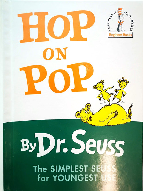 HOP ON POP, by Dr Seuss