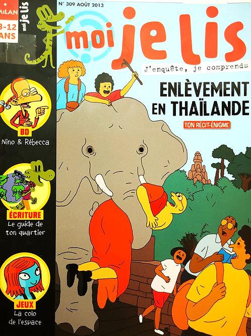 Moi je lis, j'enquête et je comprends. Enlèvement en Thailande.