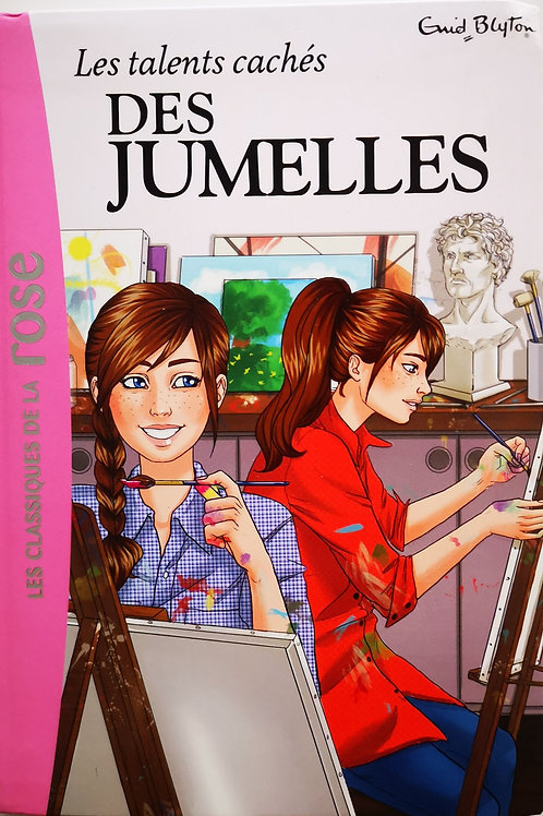 Les talents cachés des jumelles, bibliothèque rose