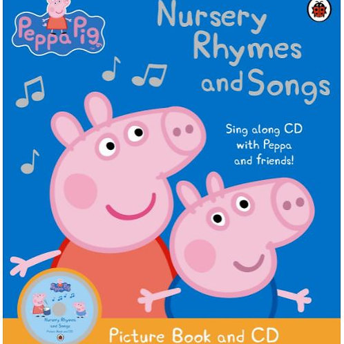 Peppa Pig Nursery Rhymes and song (With CD)