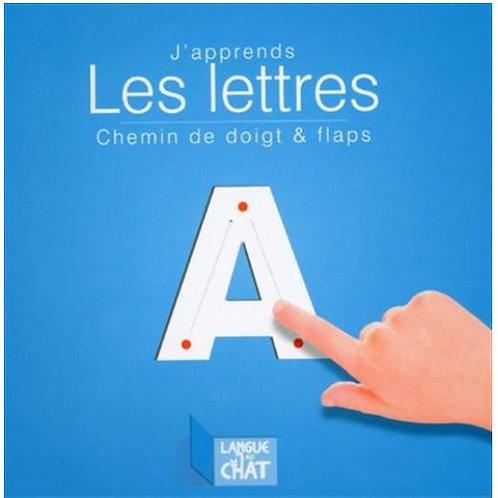 J'apprends les lettres - Chemin de doigt