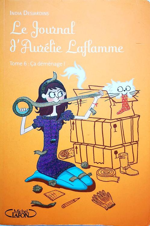 Le journal d'Aurélie Laflamme, Tome 6 : ça déménage