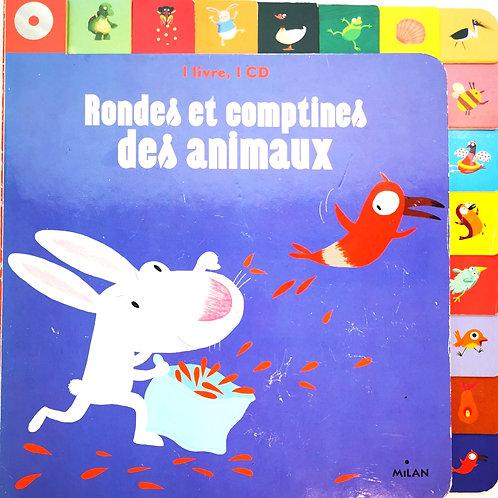 Rondes et comptines des animaux, CD inclu