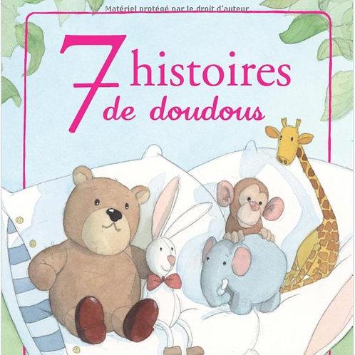 7 histoires de doudous