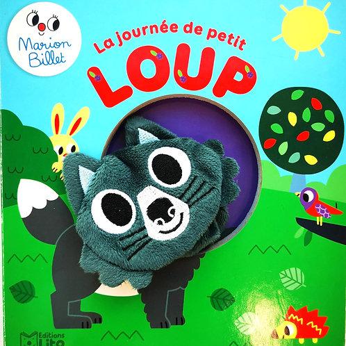 La journée de petit Loup, livre marionnette