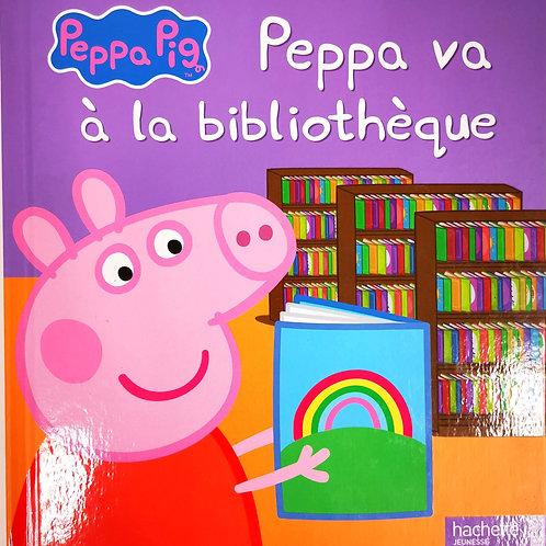 Peppa va à la bibliothèque