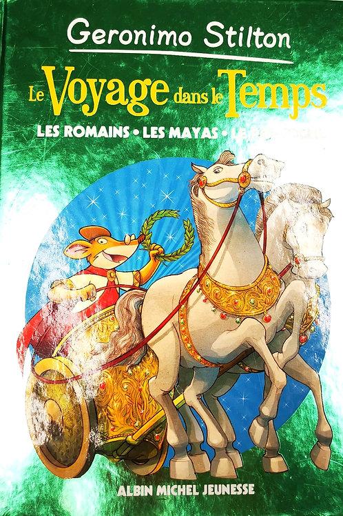 Géronimo Stilton, Les Romains - Les Mayas - Le Roi Soleil