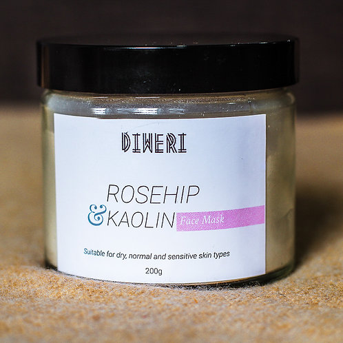 Rosehip & Kaolin Clay Mask