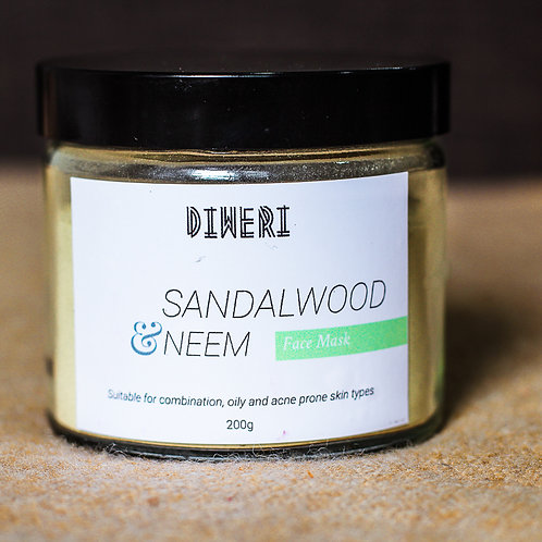 Neem & Sandalwood Face Mask