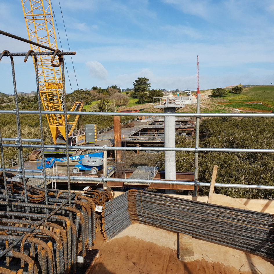 Matakohe bridges in the Kaipara area 2018, project alongside NZTA and Fulton Hogan.