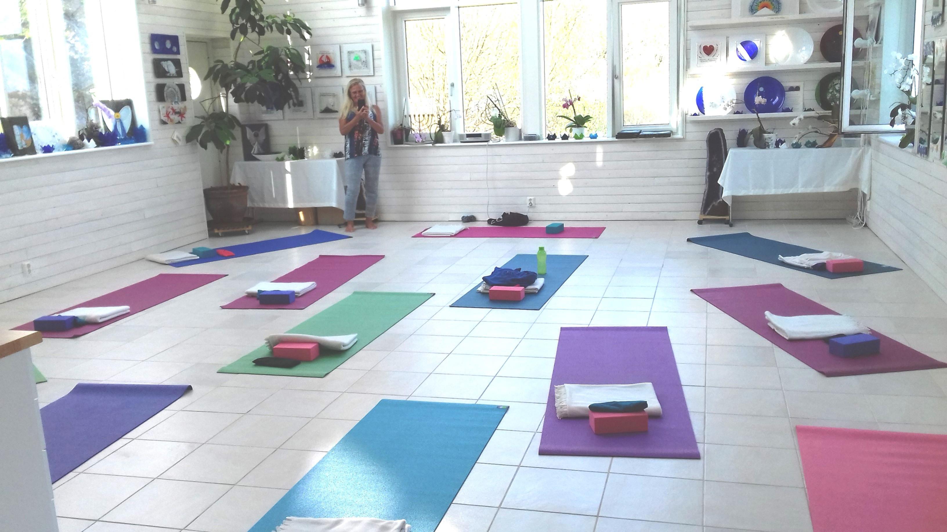 Yogaretreat; Yoga och sång
