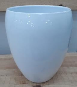 Ceramic Kaelie Pot White 18/25/10 CM