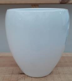 Ceramic Kaelie Pot White 14/19/8 CM