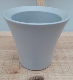 Ceramic Freda Pot Light Grey 9/12/7 CM