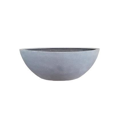 Fiber Stone Pot, Matt Grey