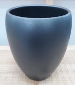 Ceramic Kaelie Pot Anthracite 18/25/10 CM