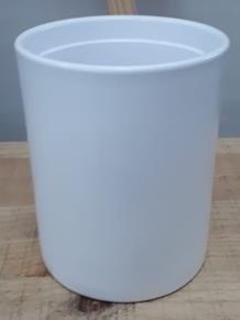 Ceramic Dafina Pot White 13/16/12 CM