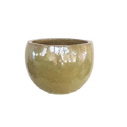 Ceramic Pot, Green